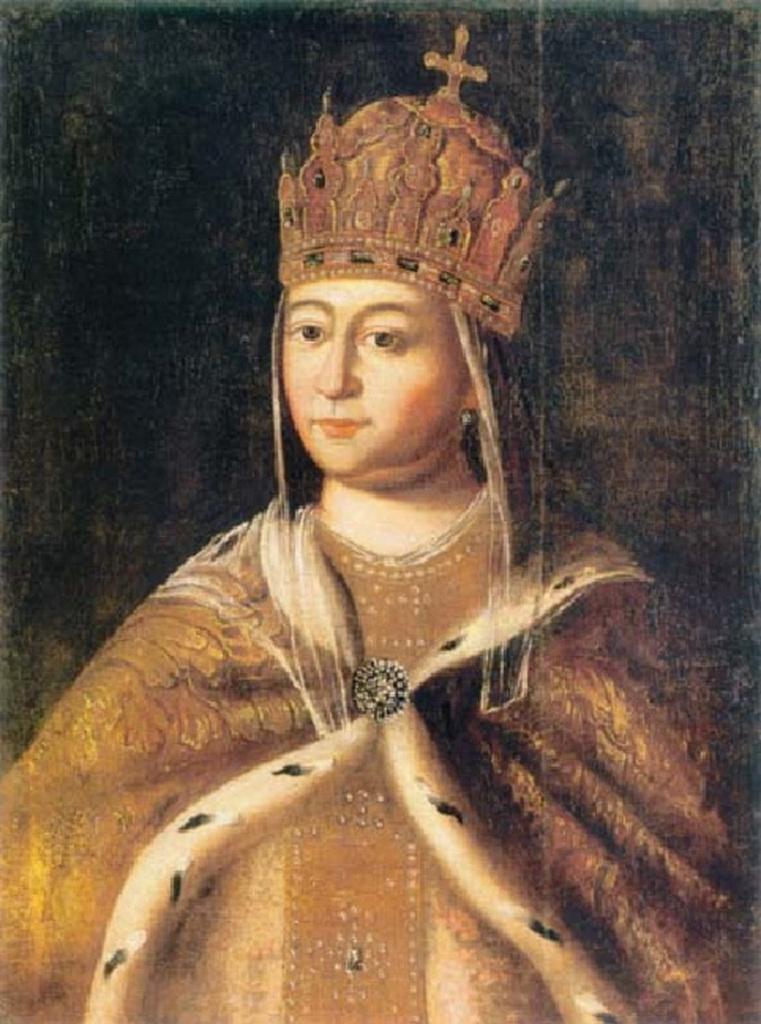 Евдокия Лукьяновна Стрешнева, вторая жена Михаила Фёдоровича.jpg