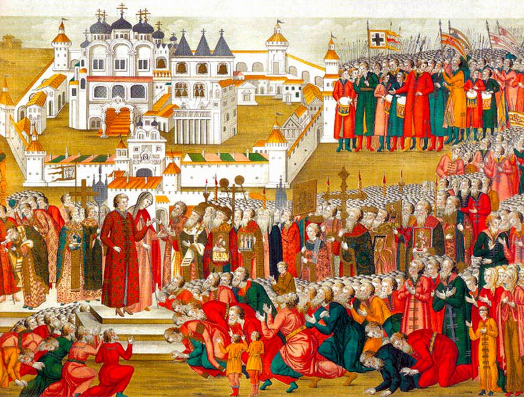 13 марта 1613 года. Посольство Земского Собора сообщает Михаилу Романову.jpg