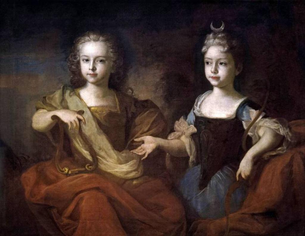 Пётр II и великая княжна Наталья Алексеевна.jpg